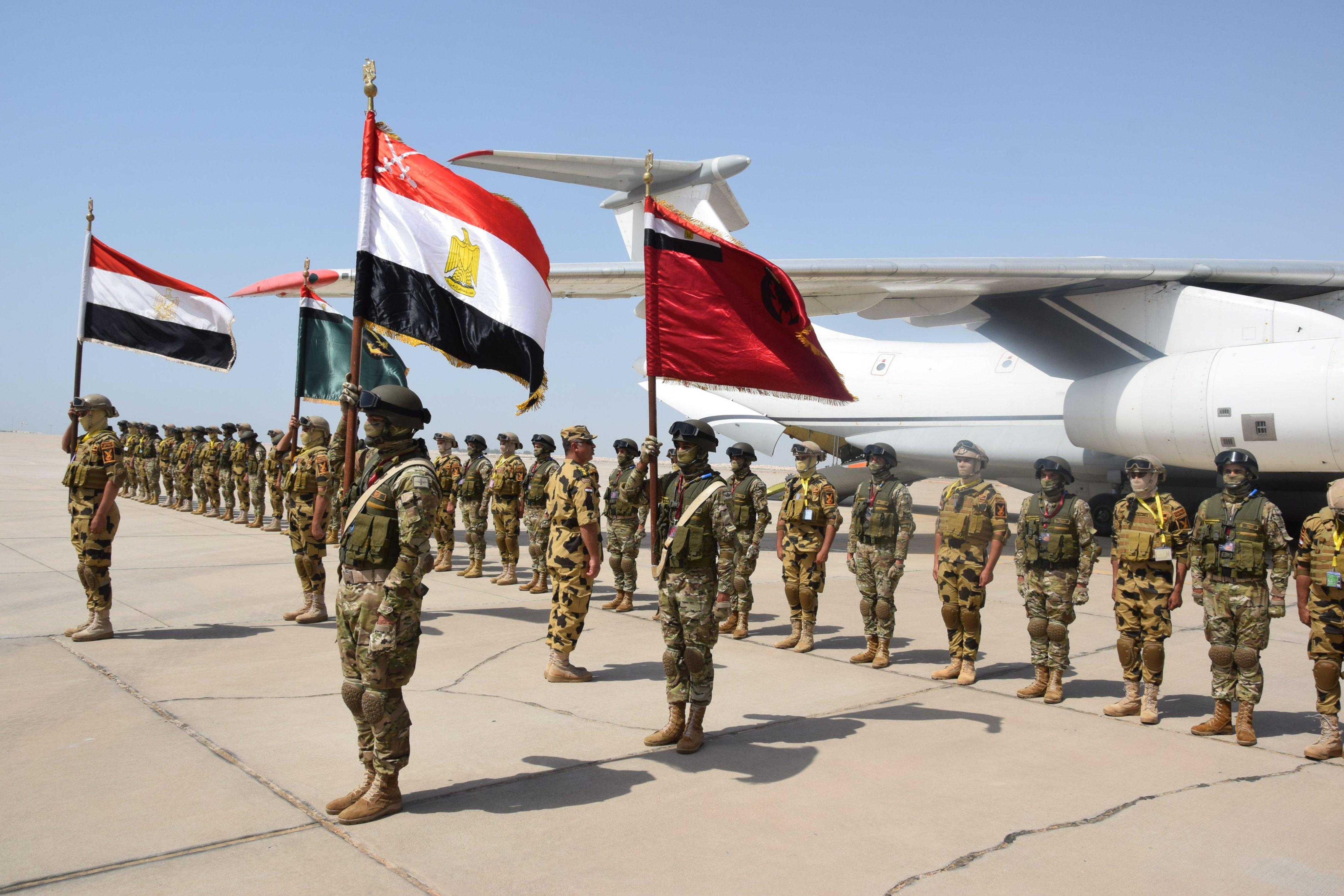 """انطلاق التمرين العسكري """"زايد 3"""" بين الإمارات ومصر E151l_pXsAU0Sp3?format=jpg&name=4096x4096"""