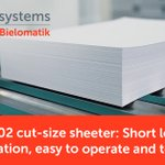 Image for the Tweet beginning: The WillPemcoBielomatik P 22-02 sheeter