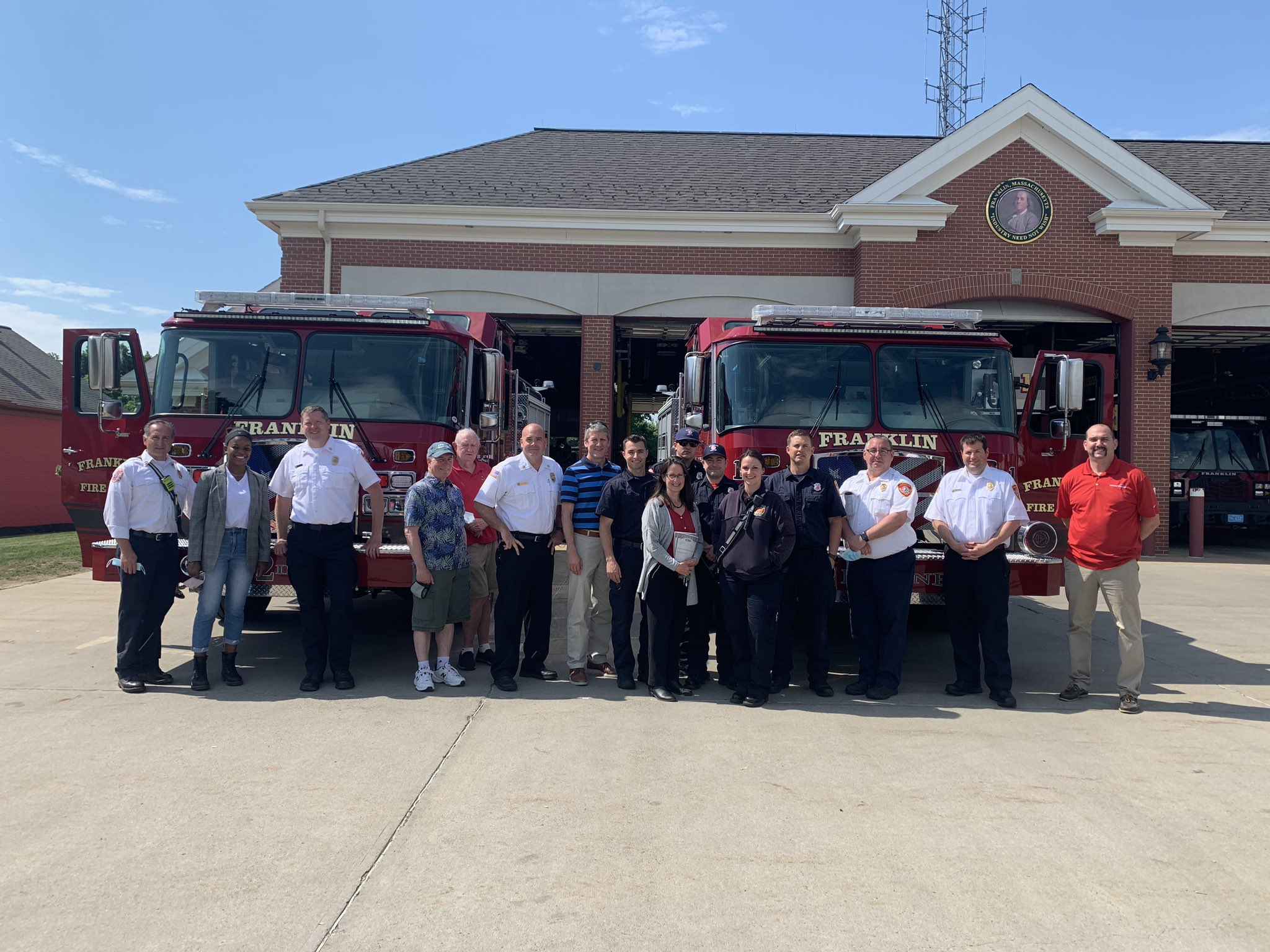 Franklin Fire Dept welcomes 2 new engines