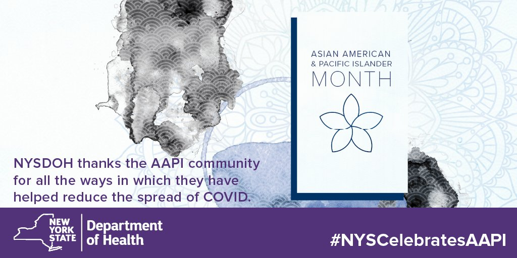 For their leadership, commitment, and dedication to reducing the spread of COVID, help us thank the Asian American Pacific Islander community. #NYSCelebratesAAPI #AAPIHeritageMonth https://t.co/yWHya5bQzx