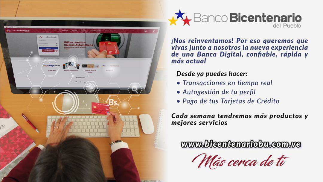 Banco Bicentenario estrena nueva plataforma tecnológica