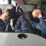 A very tiring trip!