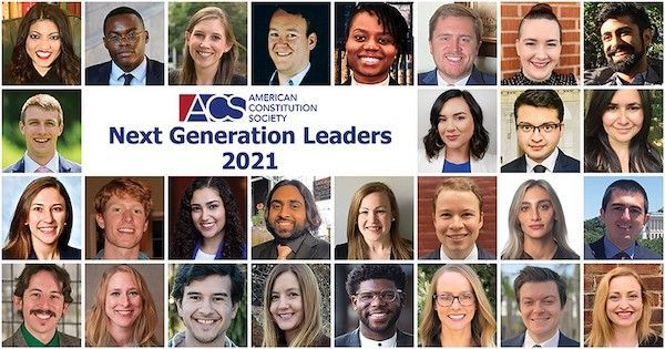 The next generation of progressive lawyers is here! What words of wisdom would you share with them? https://t.co/MFgZI5qpSP #ACSNextGenLeader https://t.co/oaDZfHDLke