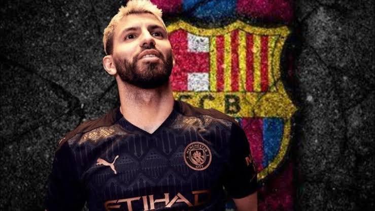 Sergio Aguero đã ở Barcelona chuẩn bị ký hợp đồng