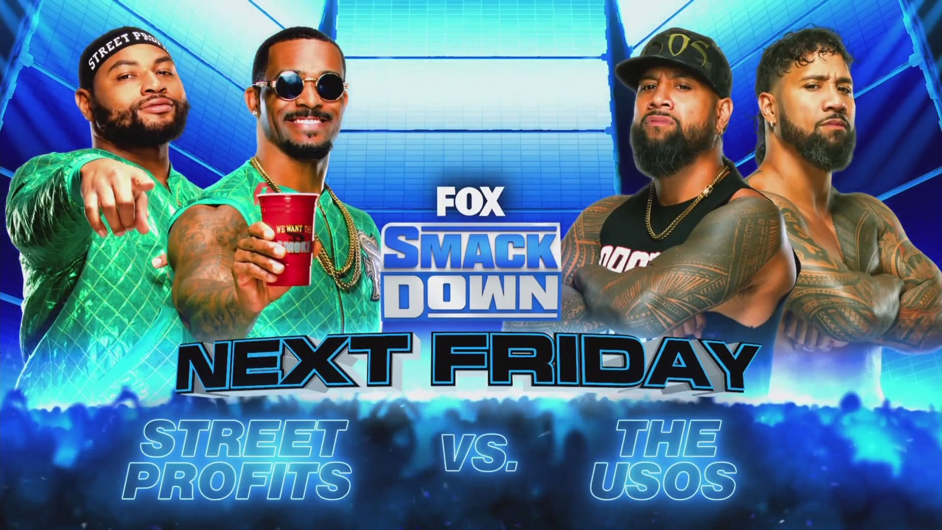 WWE Smackdown: Usos' Returning Match; Title Match & More Announced 71