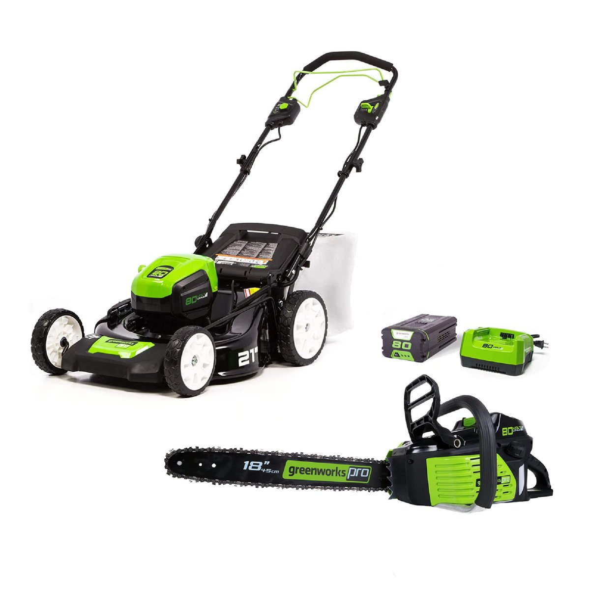 2 Up to 30% off on Greenworks Outdoor Tools