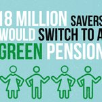 Image for the Tweet beginning: Millions would green their #pension