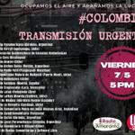 Image for the Tweet beginning: 🔴TRANSMISIÓN URGENTE DESDE COLOMBIA📡  ⚡️Hoy LUNES