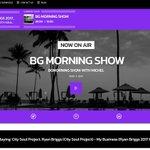 Image for the Tweet beginning: The BG Morning Show, kickstarting