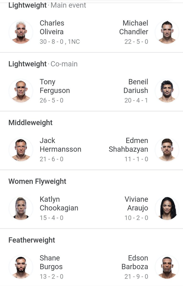 Who steals the show at UFC 262? https://t.co/tojgAasa8a