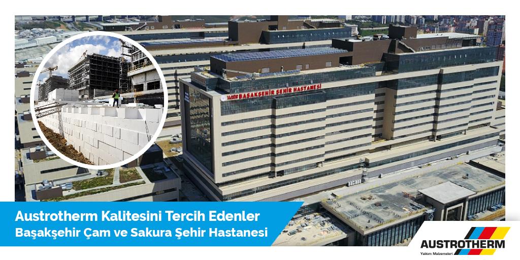 İstanbul Başakşehir Çam ve Sakura Şehir Hastanesi'nin garaj rampa perdelerinin geri dolgu imalatında Austrotherm geoBLOCK® teknolojisi kullanılmıştır.  #austrotherm #austrothermtr #geoBLOCK #tbt https://t.co/ef6fxGI6L9