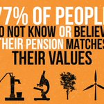 Image for the Tweet beginning: Does your #pension match your