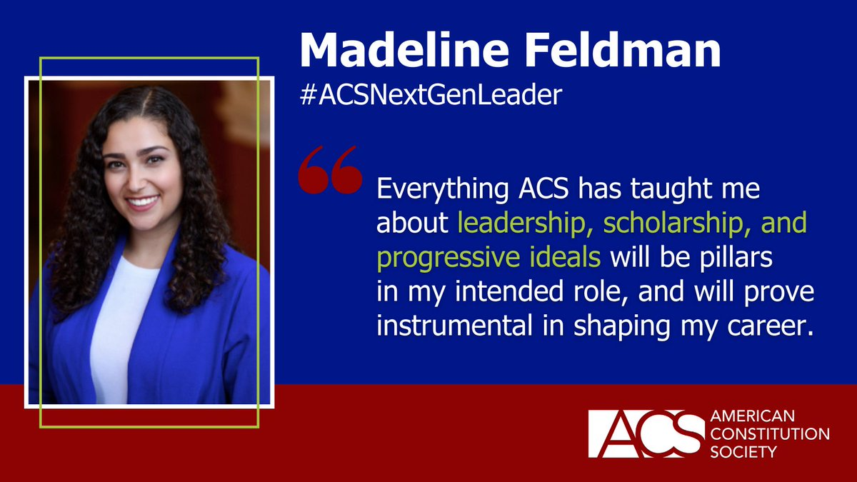 ACS's 2021 Next Generation Leaders are making positive progressive change in communities across the country! Will you share a few words of wisdom and support with this year's NGLs as they embark upon this exciting new chapter? https://t.co/MIVUlEhJUx #ACSNextGenLeader https://t.co/Dj5Wp6W2Hq