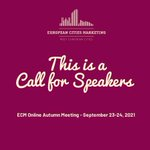 Image for the Tweet beginning: 📣 We invite speakers (DMOs,