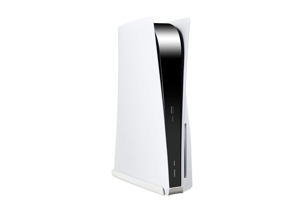 Stanstar Sturdy PS5 Wall Mount  White Metal $32.99  Amazon USA 2