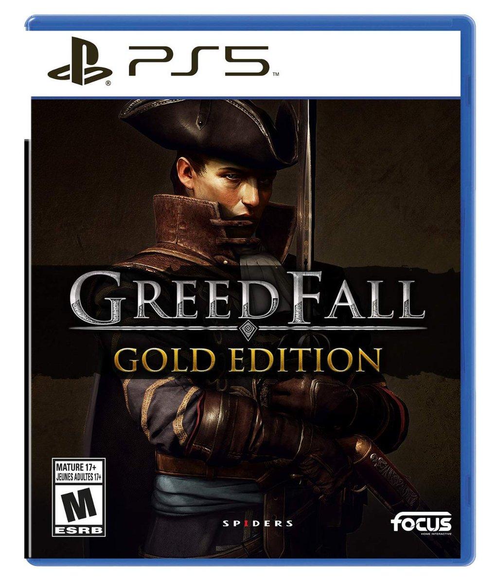 Greedfall: Gold Edition PS5 $39.99   Amazon USA 2