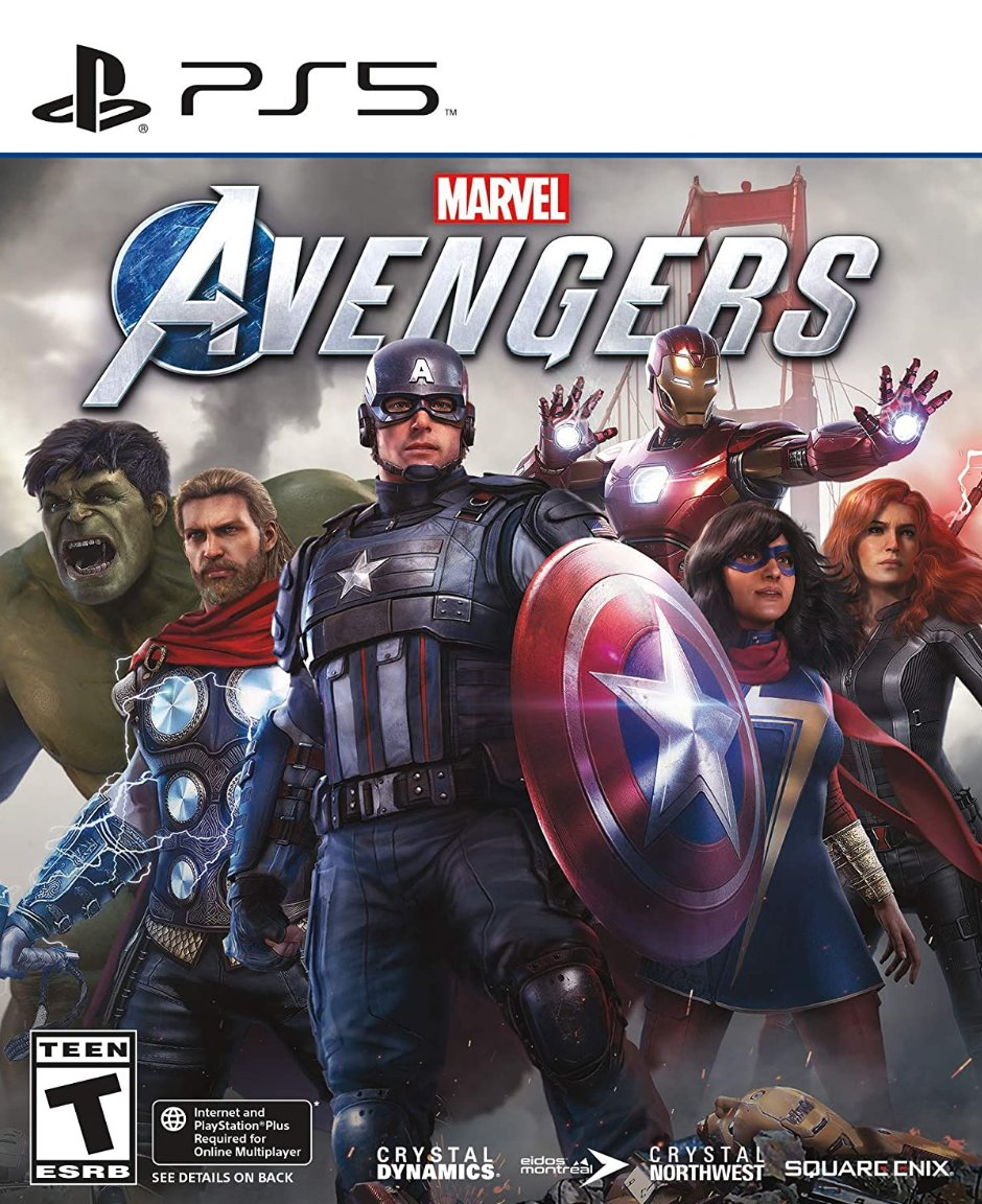 Marvel's Avengers PS5 $24.99  Amazon USA 2