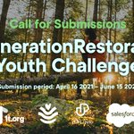 Image for the Tweet beginning: #CitiesWithNature for youth 🌷  Calling all
