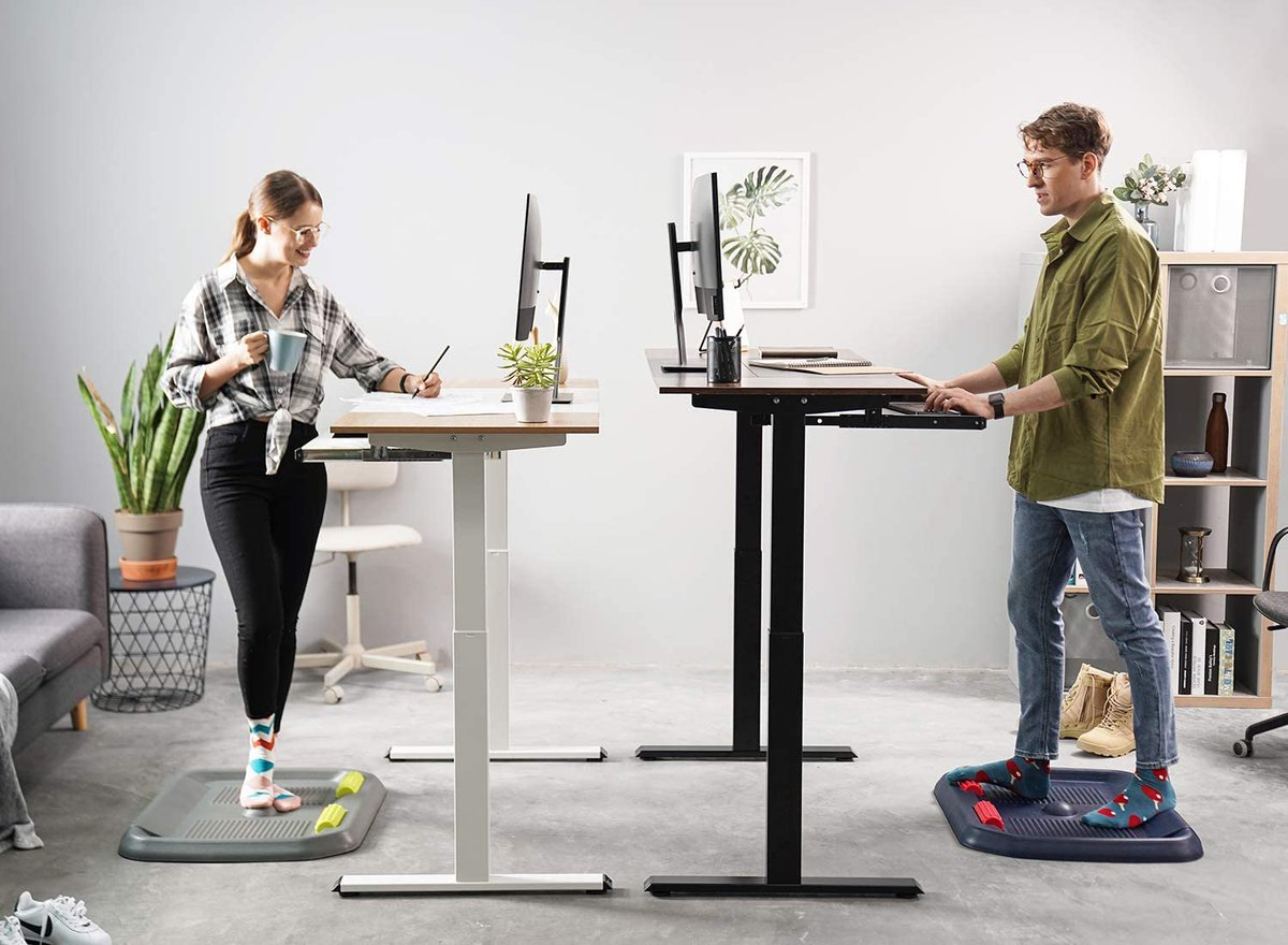 Electric Stand up Desk Frame is $30 off in cart on    Purchase --  2