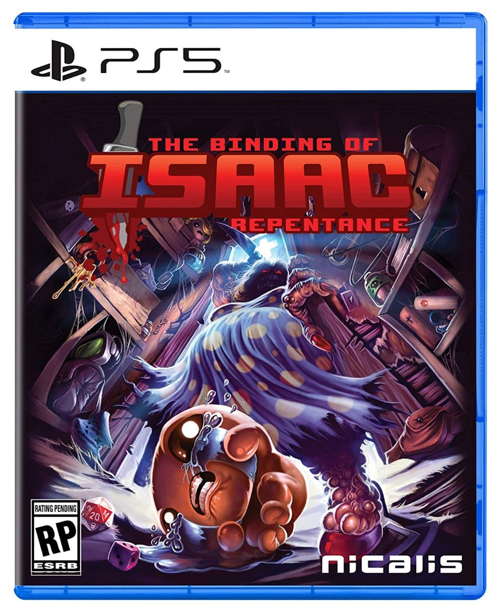 The Binding of Isaac: Repentance PS5 $59.99  Amazon USA