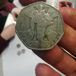 Image for the Tweet beginning: Impressive show and tell coin