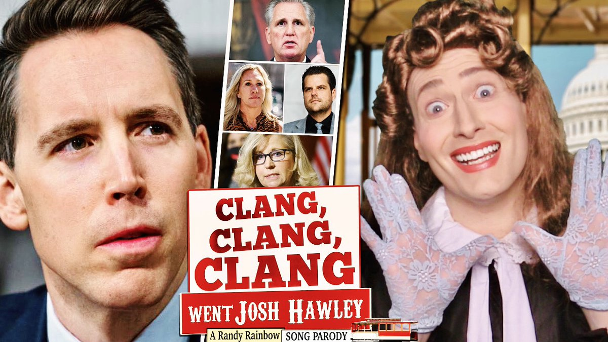 @RandyRainbow's photo on #ClangClangClangWentJoshHawley