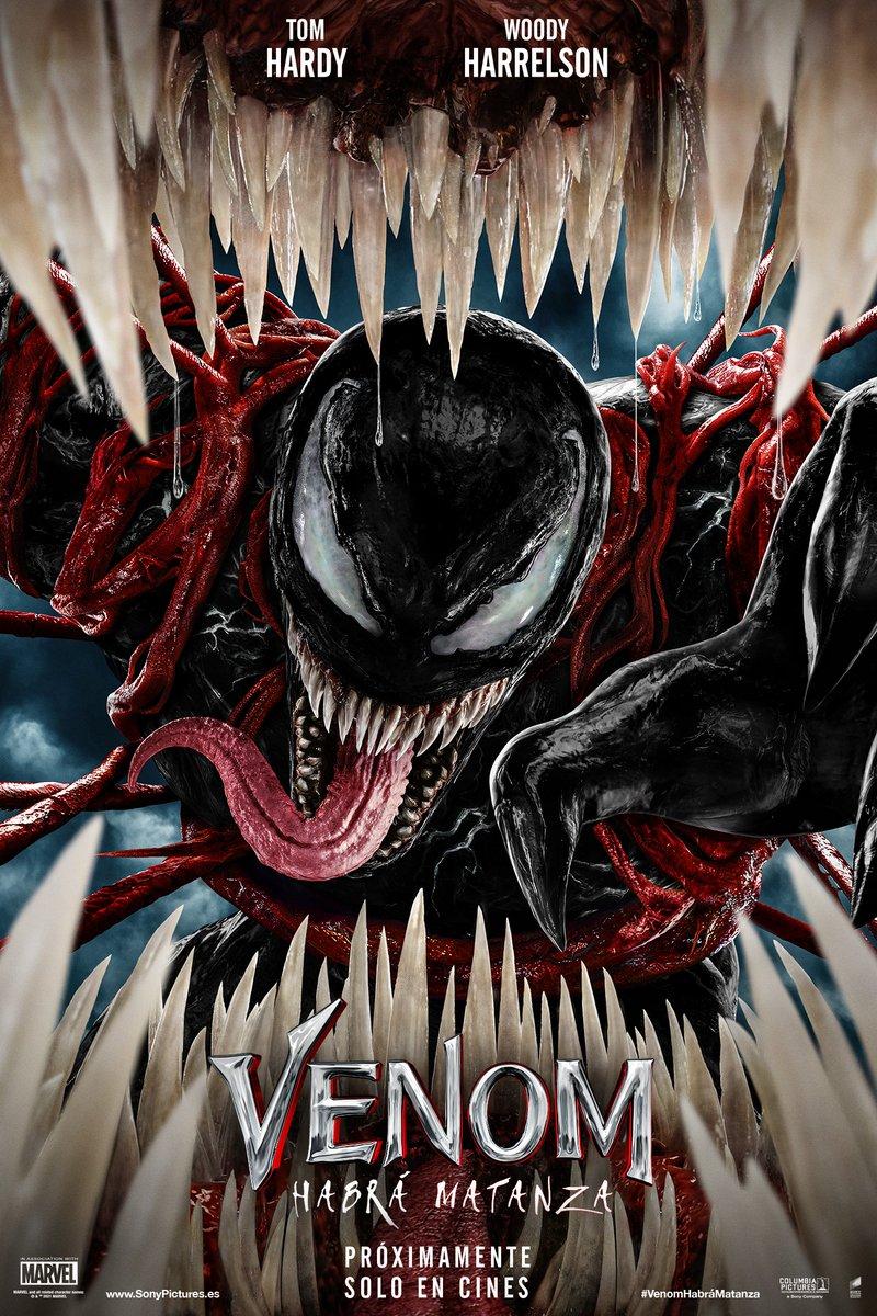 Solo en cines el 8 de octubre. #VenomHab