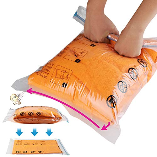 2 Jancosta Space Saver Bags, Vacuum Storage Bags for Clothes