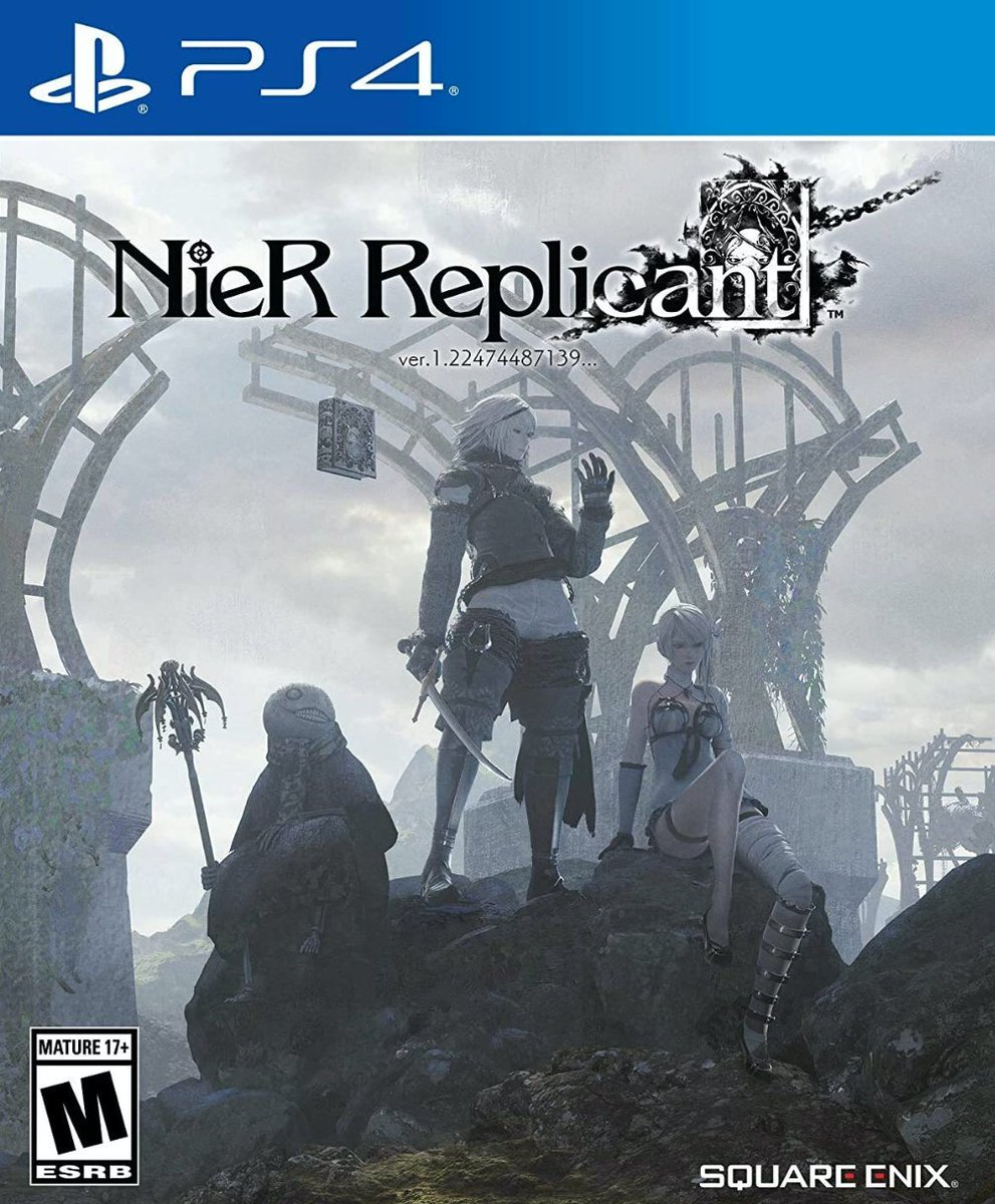 Nier Replicant Ver.1.22474487139 PS4. $59.99 *PS5 also plays PS4 games  Amazon USA