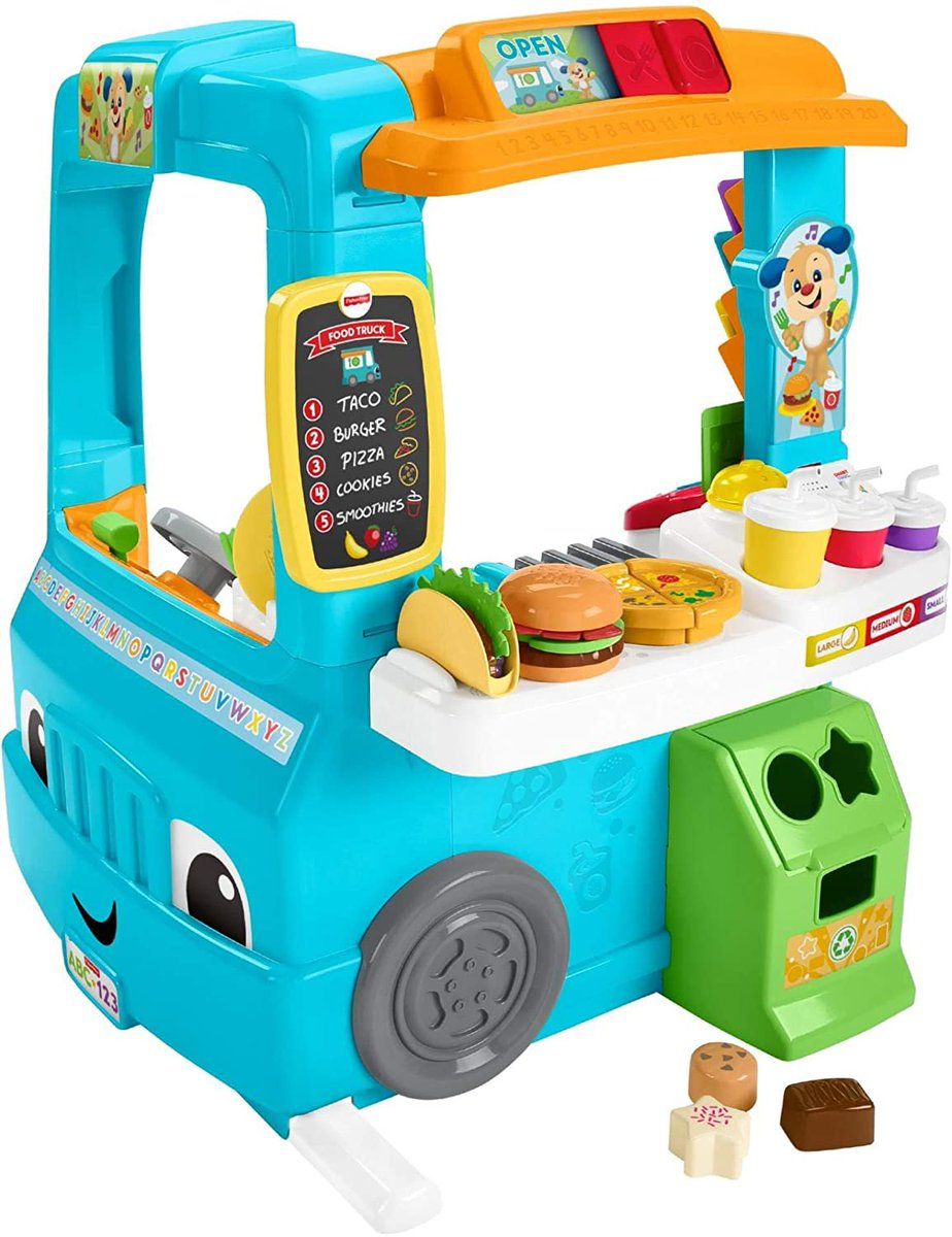 PRICE DROP!!!  Fisher-Price Laugh & Learn Servin Up Fun Food Truck  Only $41.99!!  2