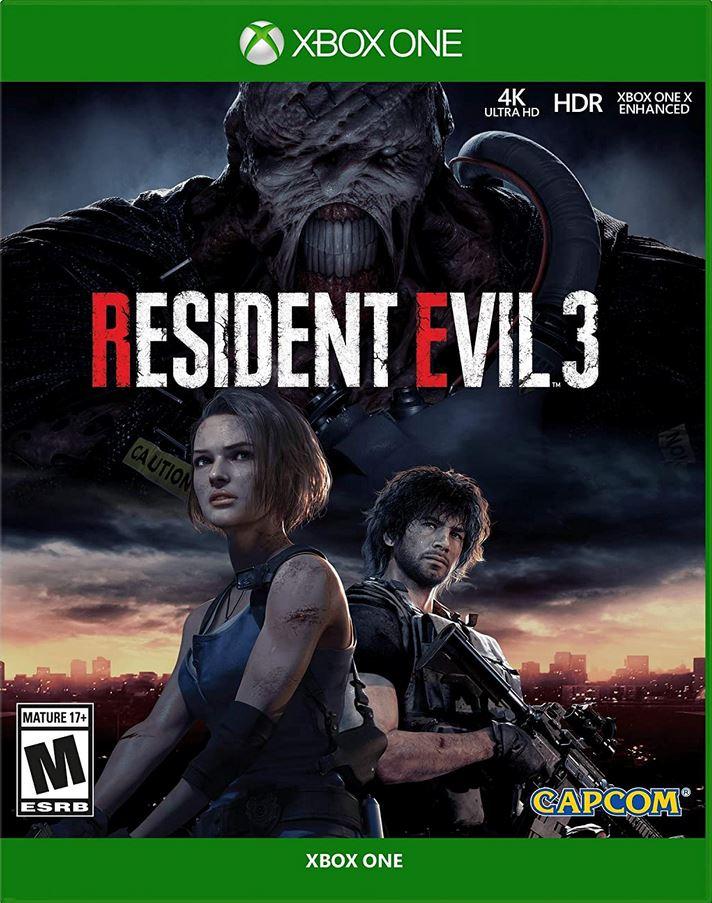 Resident Evil 3 (X1) $19.50 via Amazon (Prime Eligible). 2