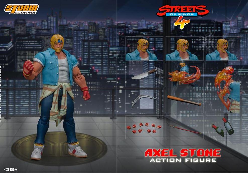 Streets of Rage IV Axel Stone 1/12 Scale Figure $72 via Amazon (Prime Eligible). 2