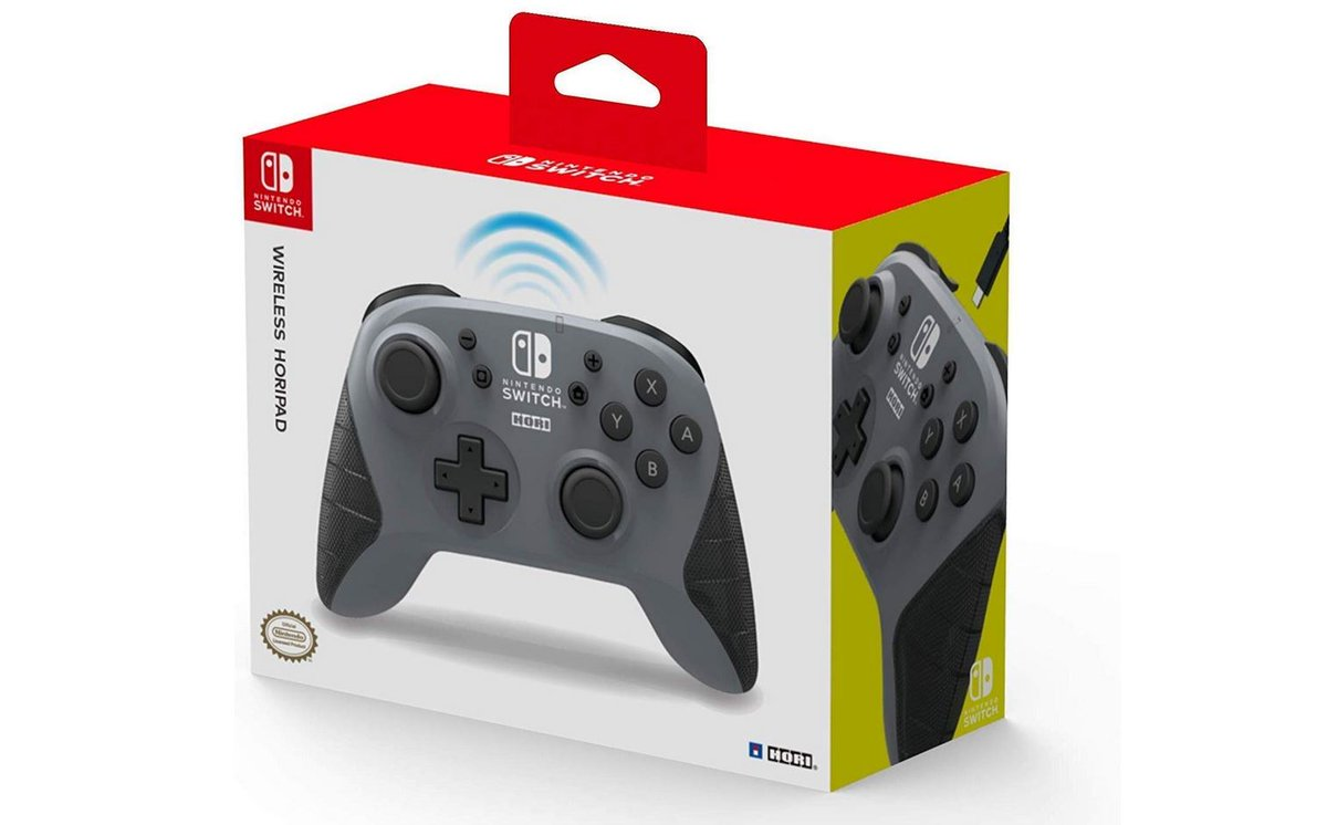 Nintendo Switch Wireless HORIPAD (Gray) by HORI $38.20 via Amazon (Prime Eligible).