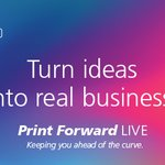 Image for the Tweet beginning: Print Forward LIVE starts May