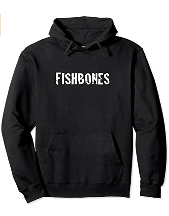 'FISHBONES' Pullover #Hoodie by #RainFishGraphics Available at  via @amazon RT #Amazon #merch.