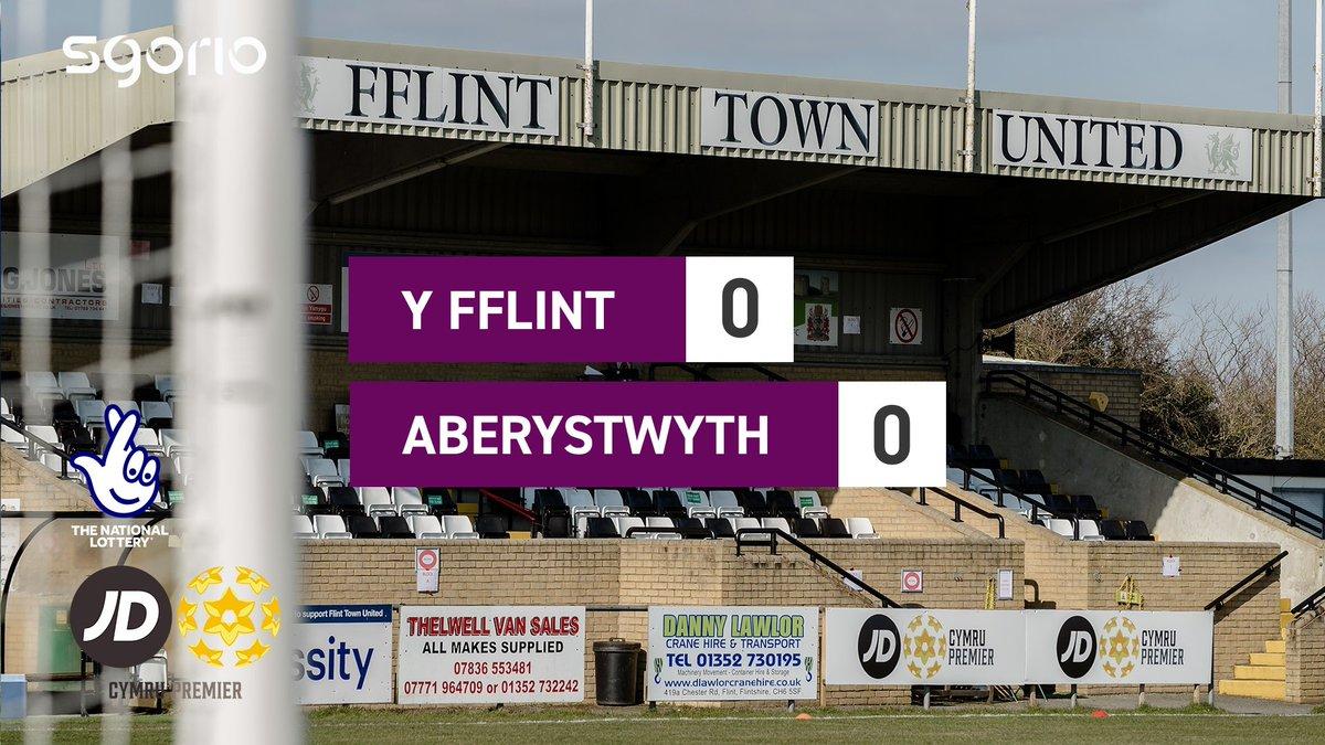 Image for the Tweet beginning: Uchafbwyntiau | Highlights  @FlintTownFC 0-0 @AberystwythTown