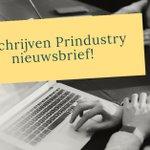Image for the Tweet beginning: Mis niks van Prindustry en