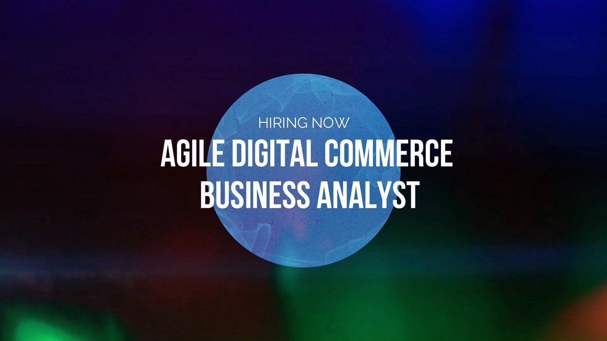 test Twitter Media - Agile Digital Commerce Business Analyst, remote  https://t.co/Ikn5oBwMXj    Familiarity with customer-facing digital commerce solutions   #ecommercejobs #agileba #commercetools #bigcommerce #sfcc #hybris #sapcommerce #businessanalystjobs #digitalcareers #staffworx https://t.co/bn53DppCwi