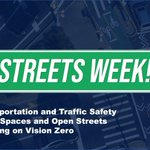 Image for the Tweet beginning: It's #StreetsWeek in New York