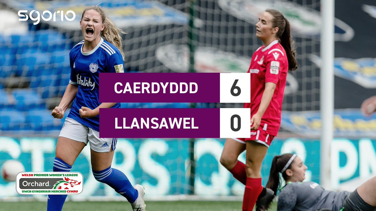 Image for the Tweet beginning: Uchafbwyntiau | Highlights  @CardiffCityFCW 6-0 @BFLLAFC