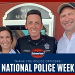 Image for the Tweet beginning: This week is National Police