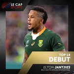 Image for the Tweet beginning: Congrats to Elton Jantjies who