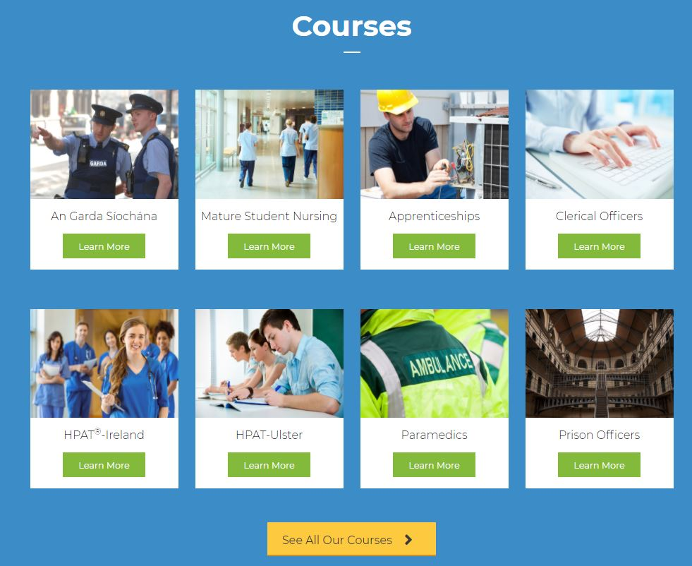 We offer preparation courses aimed at preparing candidates for the recruitment aptitude tests and interviews that are used during the selection process for a variety of different competitive careers 👮♀️👷👩💻👨⚕️ Find out more here: https://t.co/xXRNtNv3vU https://t.co/OcZkfVNZgr
