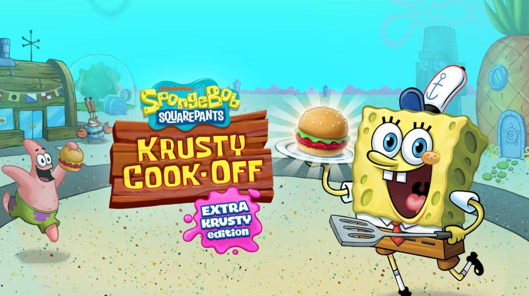 SpongeBob: Krusty Cook-Off (S) $14.99 via eShop.