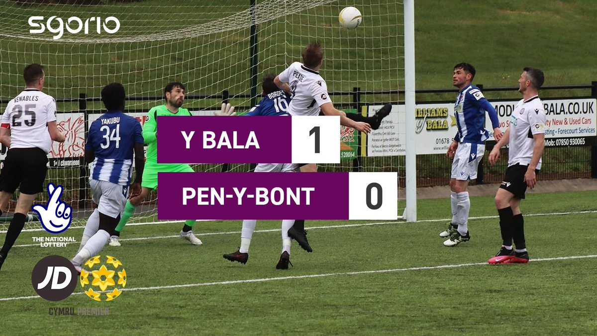 Image for the Tweet beginning: Uchafbwyntiau | Highlights  @BalaTownFC 1-0 @PenybontFC_