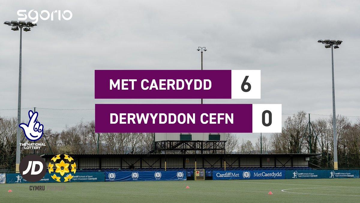 Image for the Tweet beginning: Uchafbwyntiau | Highlights  @CardiffMetFC 6-0 @CefnDruids
