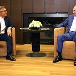 Image for the Tweet beginning: #Sochi: Meeting with President of