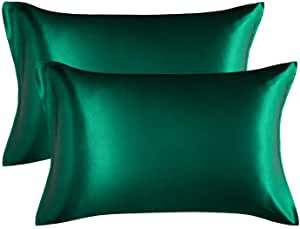 Bedsure Satin Pillowcase for Hair and Skin $9.99 2 at