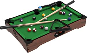 Mini Tabletop Pool Set- Billiards Game Includes Game Balls $16.86 2 at