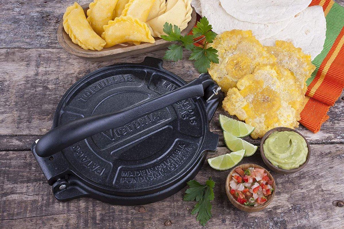 ad: $19.59 (23% off)   Victoria 8-Inch Cast Iron Tortilla Press  Link0 Link0